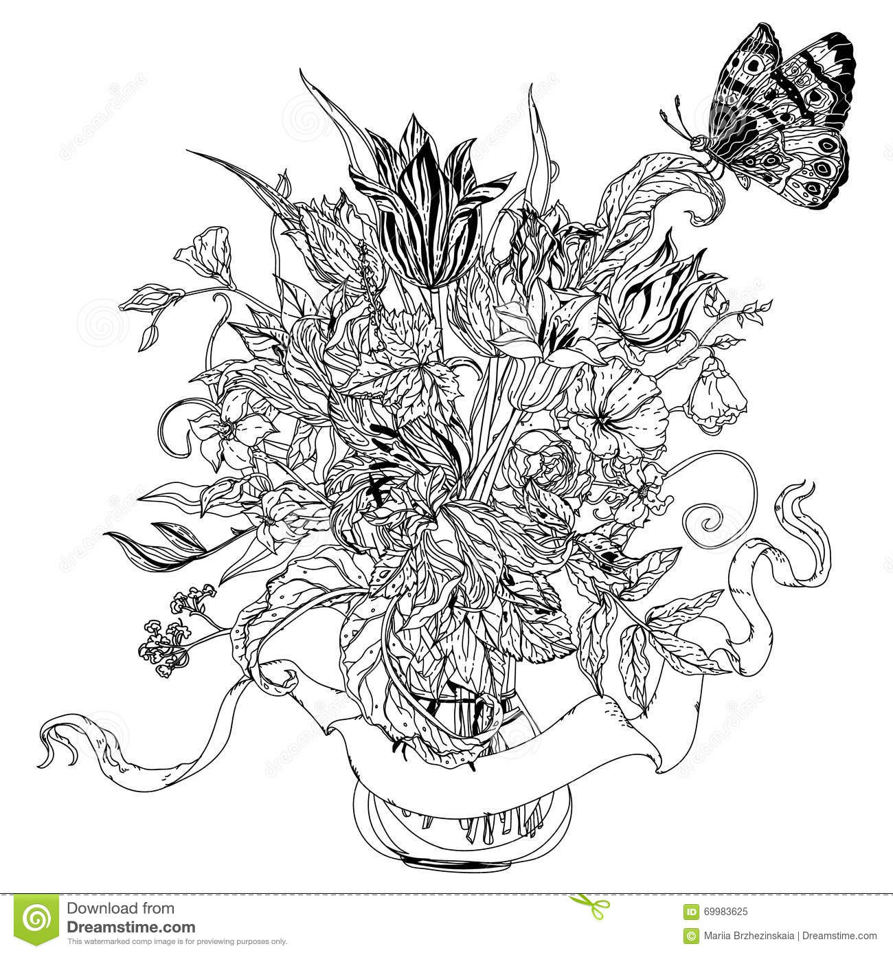 uncolored pictures of flowers bandung documentary photo uncolored flower of pictures flowers uncolored