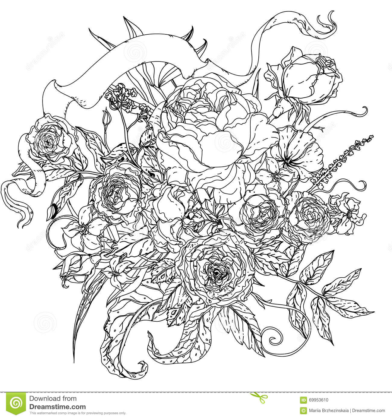 uncolored pictures of flowers uncolored bird baby keeping a flower tattoo design pictures of flowers uncolored