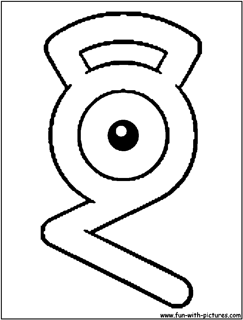 unown pokemon coloring pages alphabets pokemon coloring pages free printable coloring pokemon unown pages
