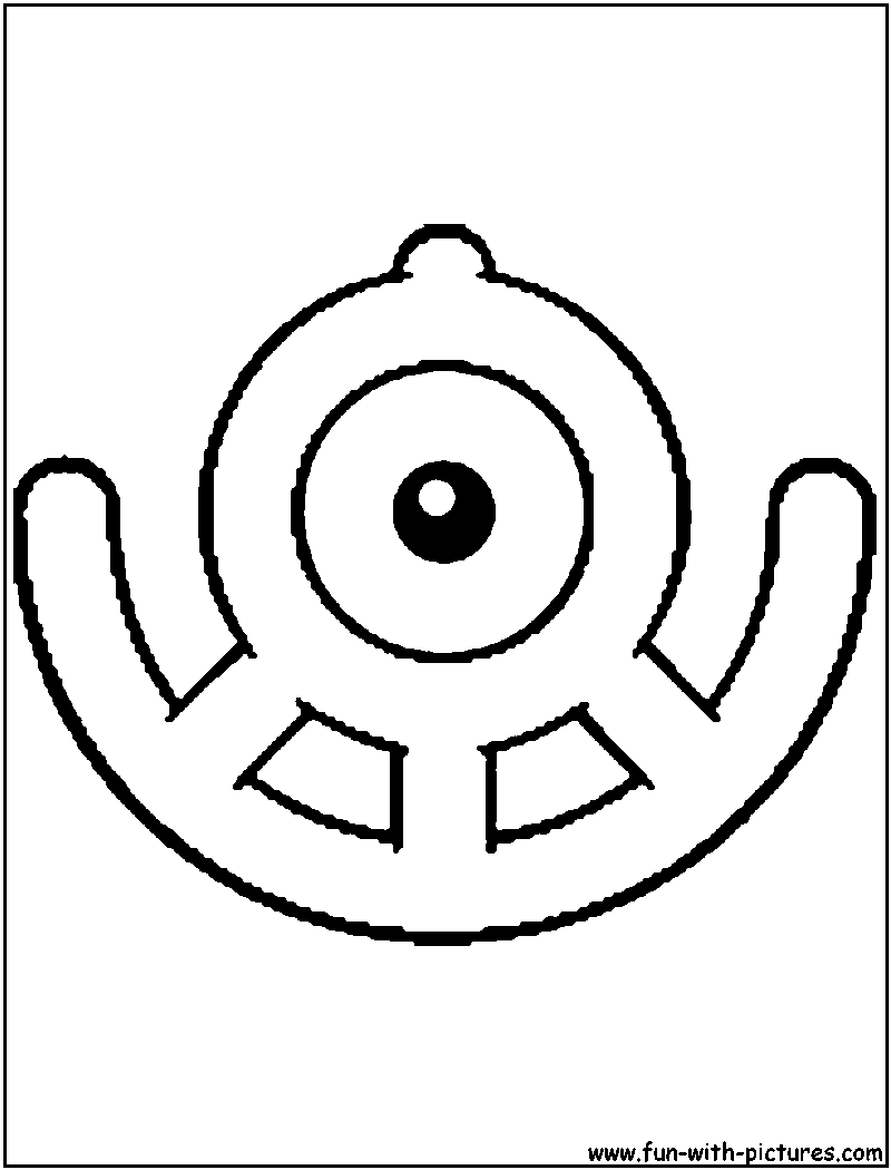 unown pokemon coloring pages unown c coloring page pages unown pokemon coloring