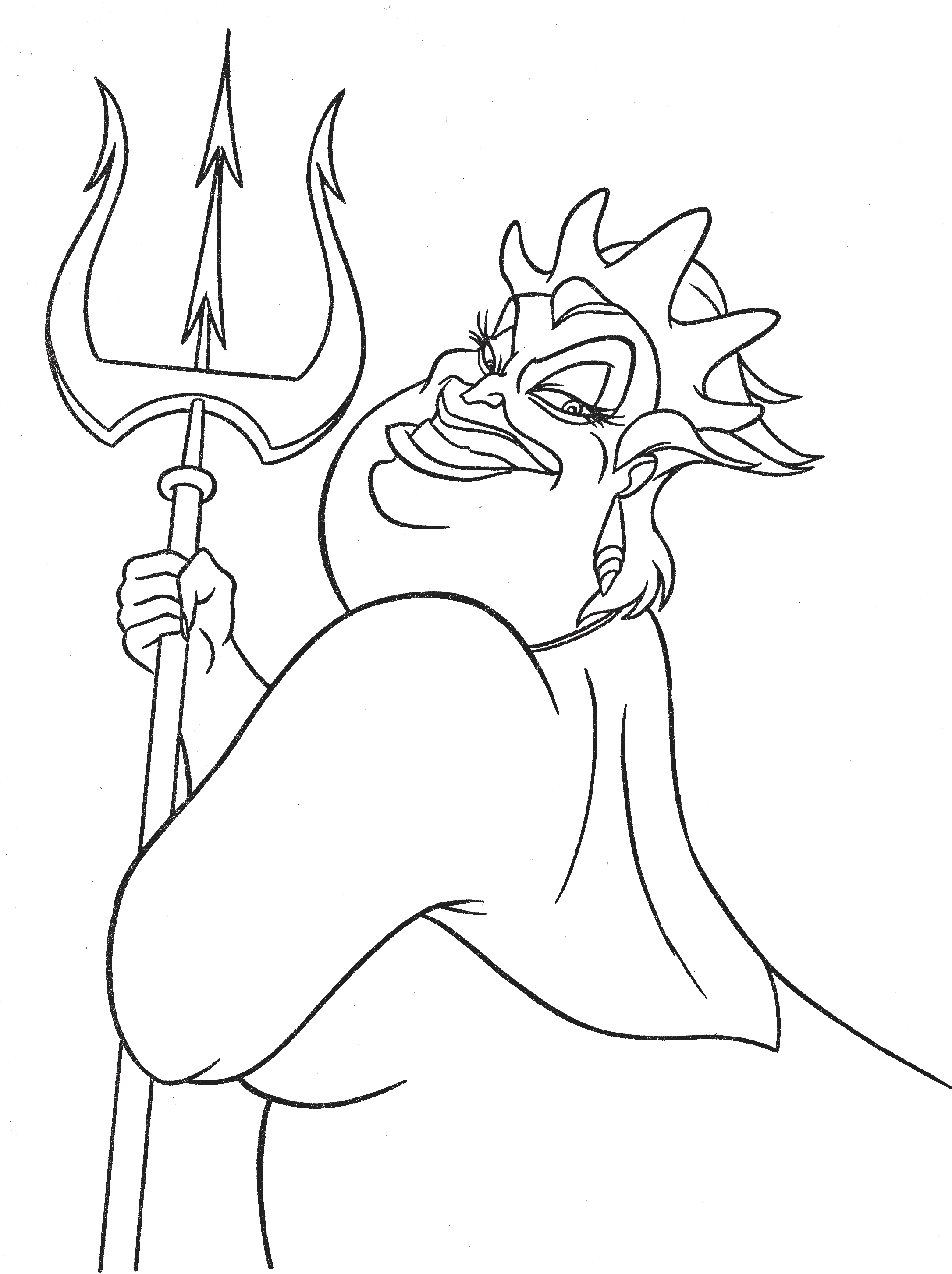 ursula coloring pages ursula coloring pages ursula pages coloring