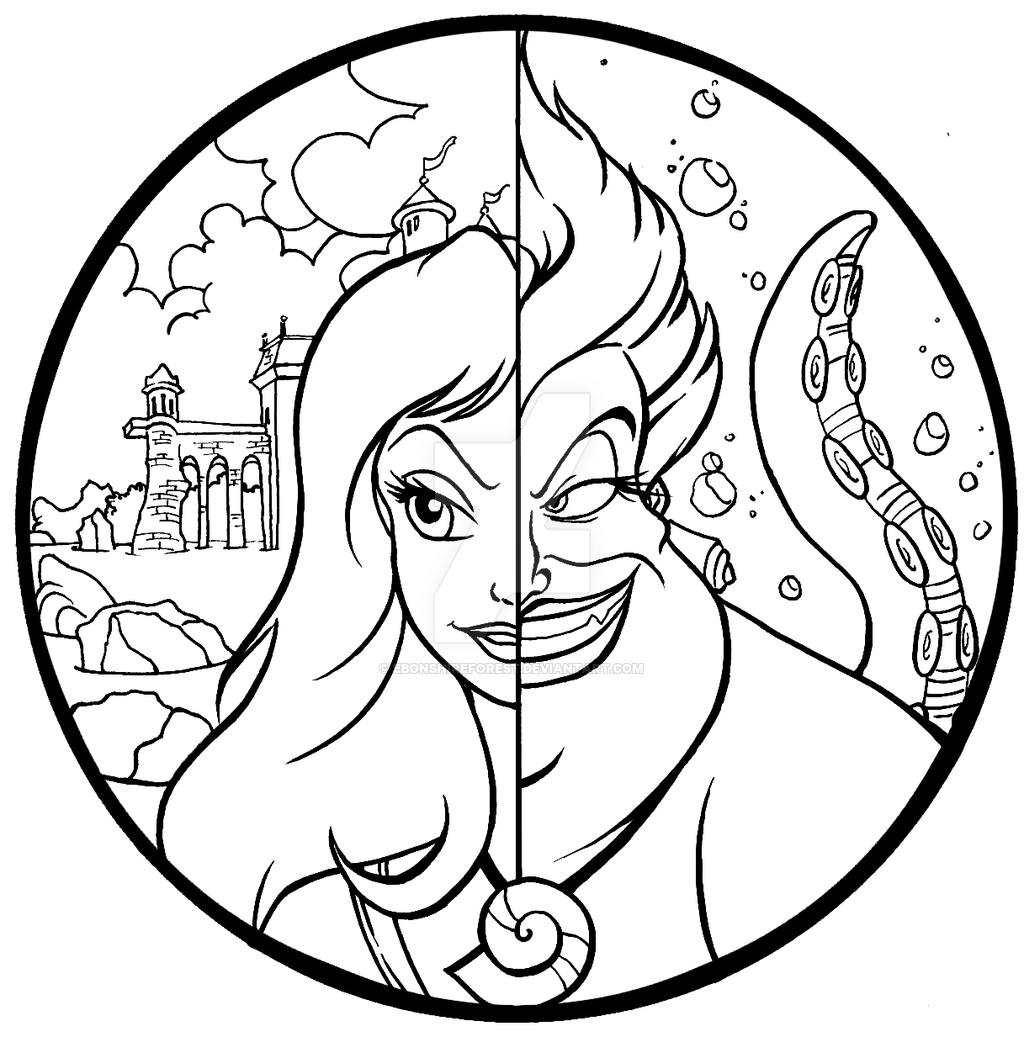ursula coloring pages ursula from the little mermaid coloring pages pages coloring ursula