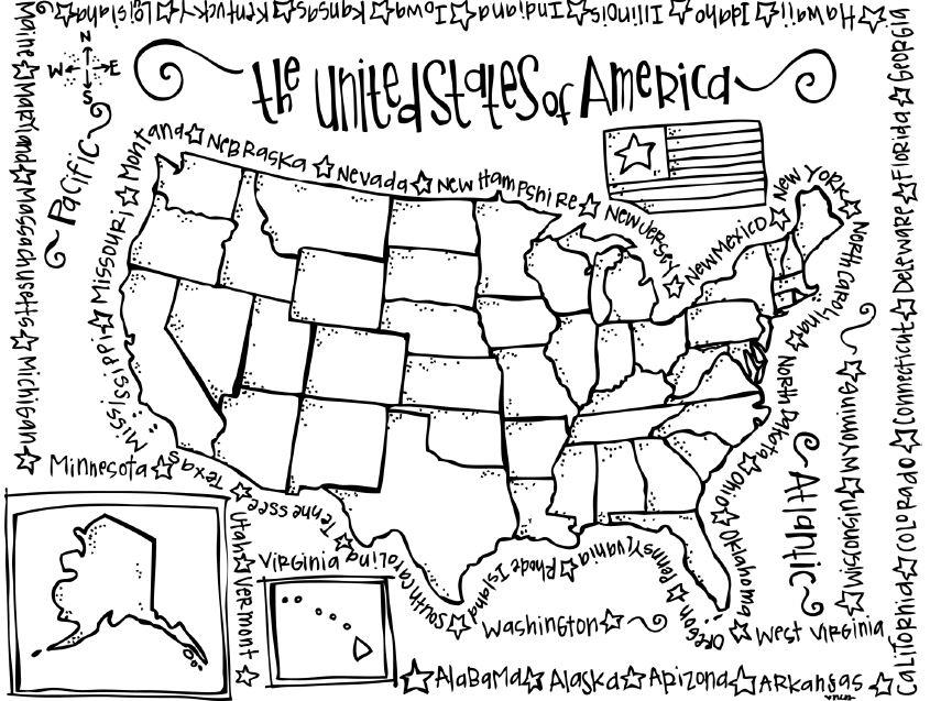 us state map coloring page blank us map dr odd geography map outline state coloring state map page us