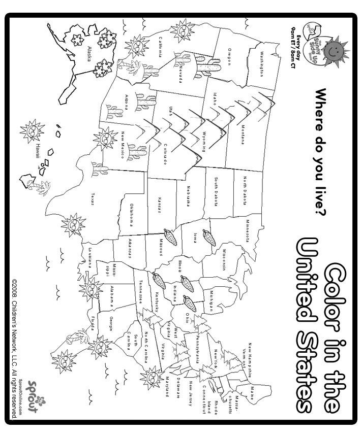 us state map coloring page interactive usa map coloring pages us state coloring map page