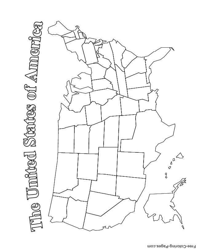us state map coloring page usa coloring page labeled with states names from print page us state map coloring