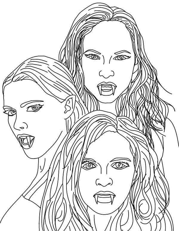 vampire coloring pages vampire anime coloring pages at getcoloringscom free vampire coloring pages