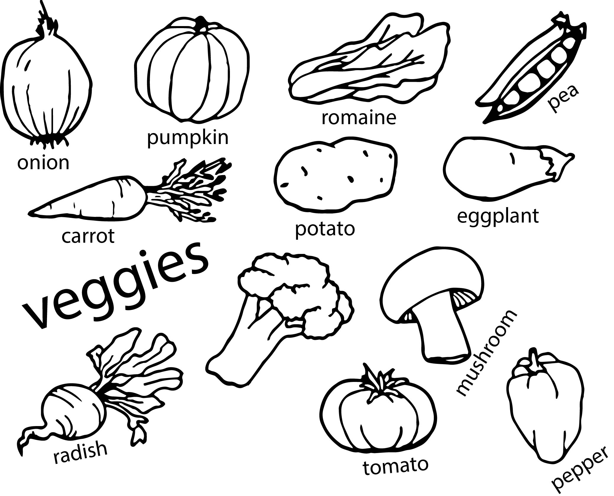vegetable pictures to color vegetable coloring pages best coloring pages for kids to pictures color vegetable
