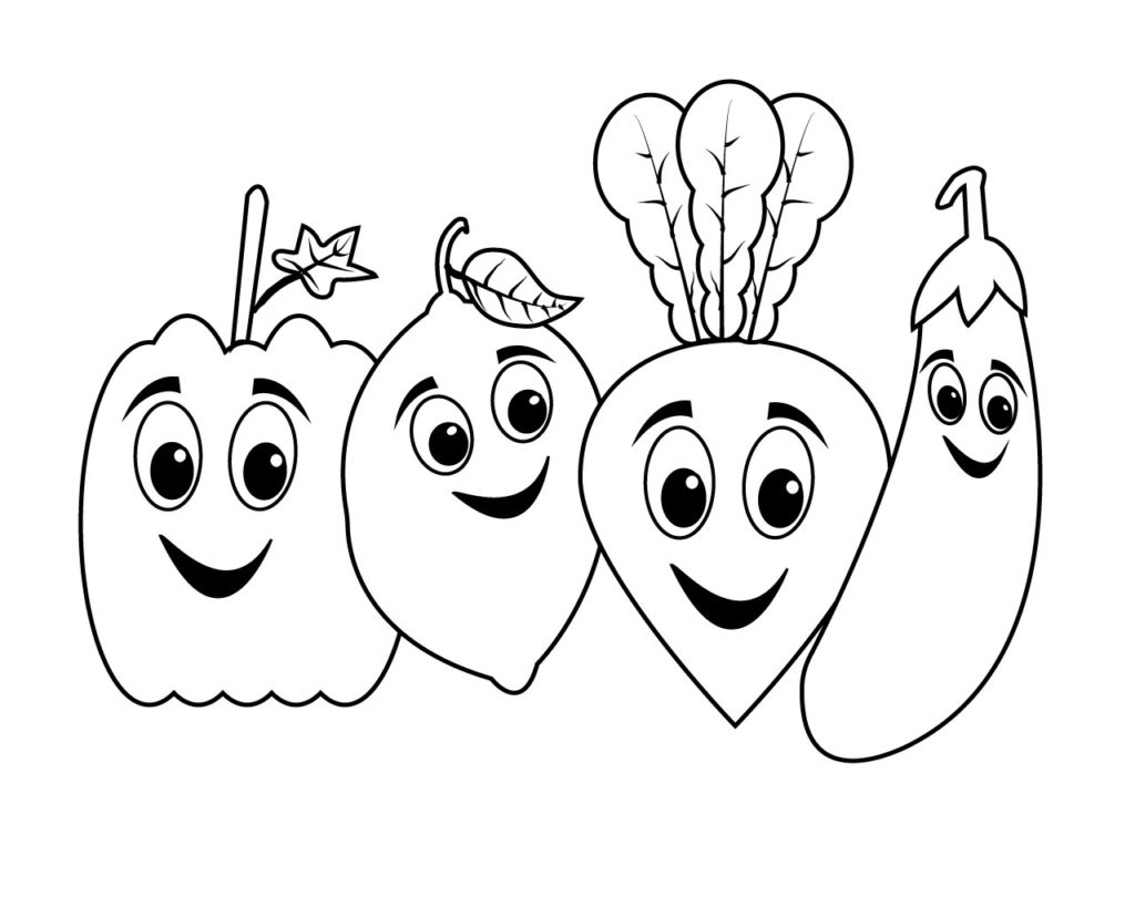 vegetable pictures to color vegetable coloring pages best coloring pages for kids to pictures vegetable color 1 1