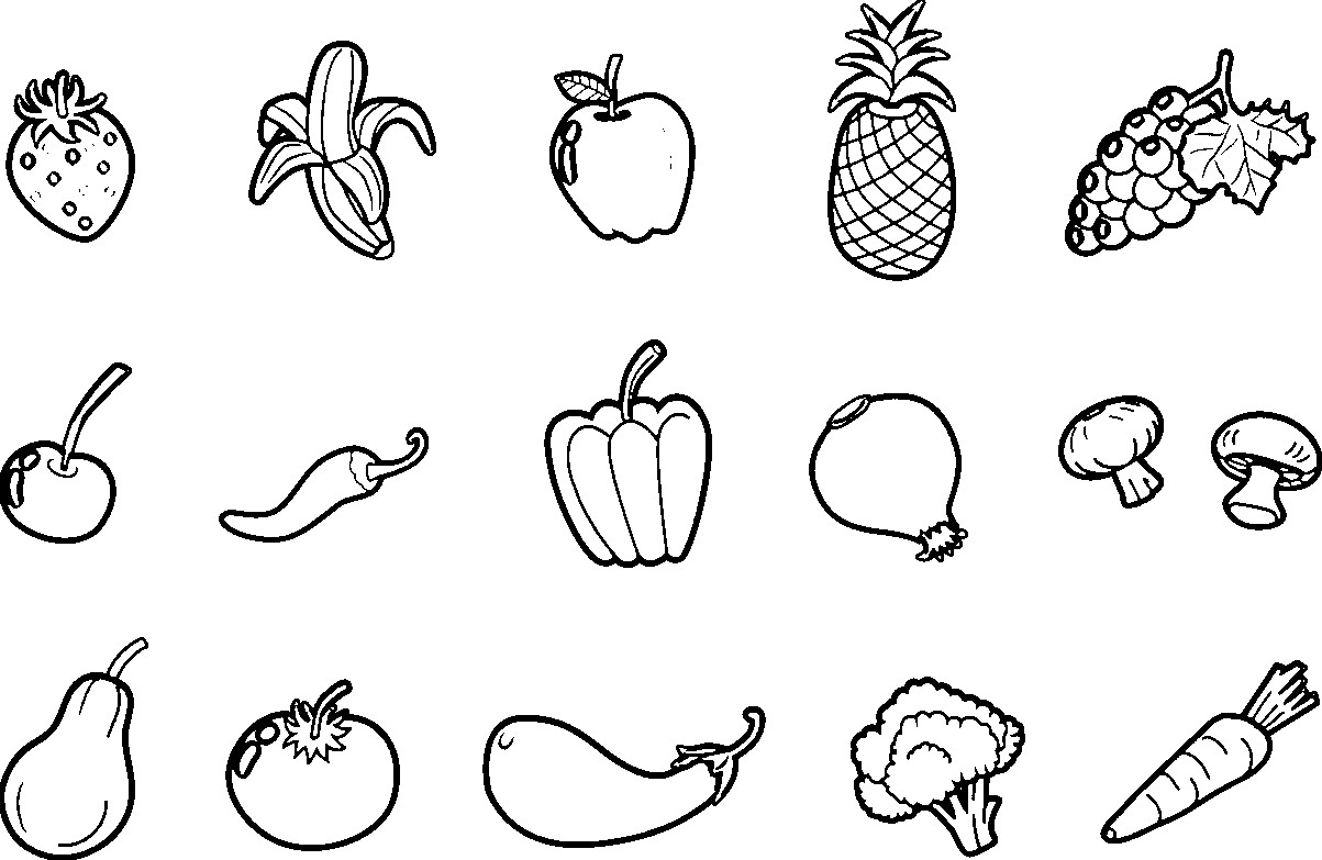 vegetable pictures to color vegetable coloring pages for childrens printable for free color vegetable pictures to