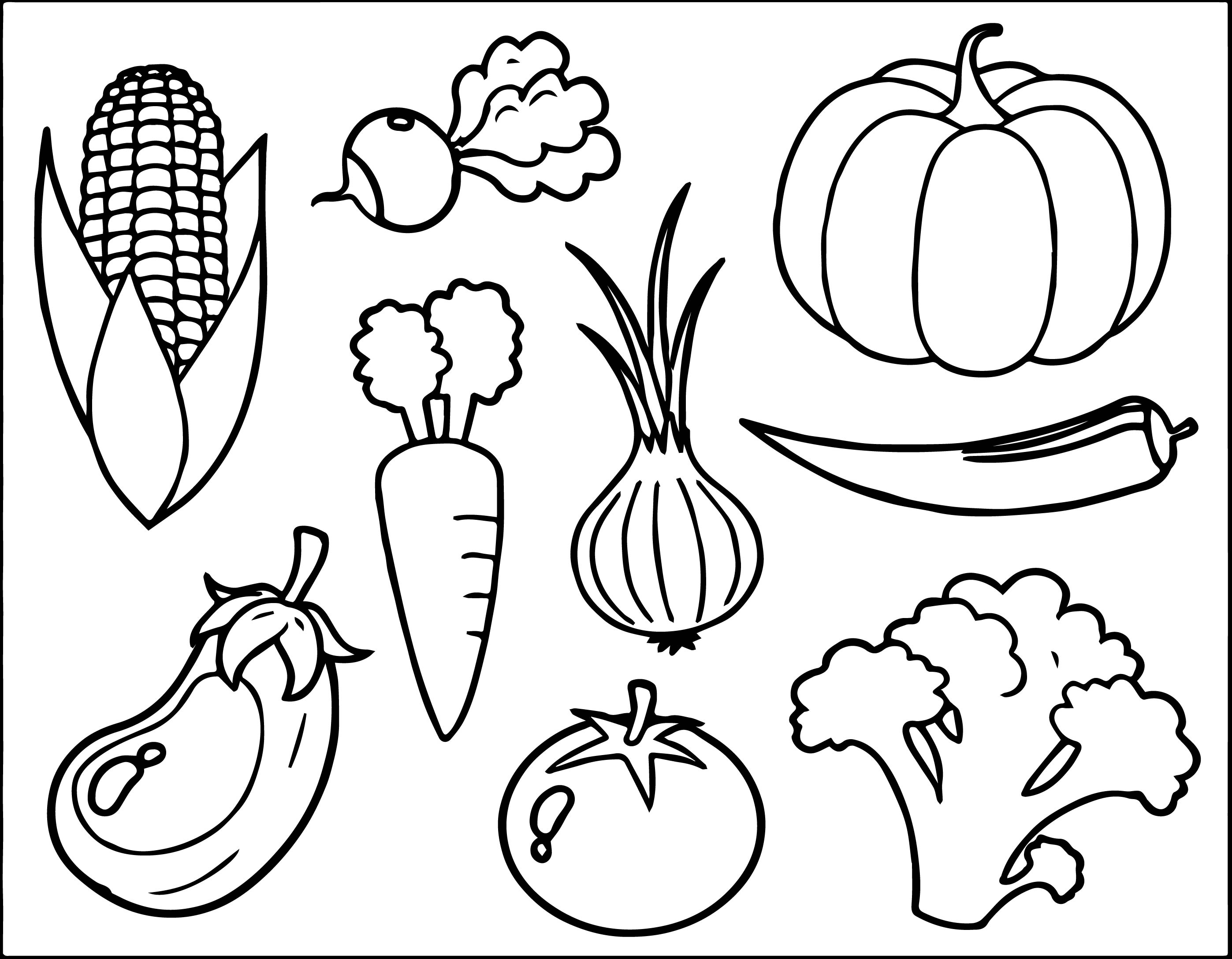 vegetable pictures to color vegetables coloring page wecoloringpagecom to pictures vegetable color