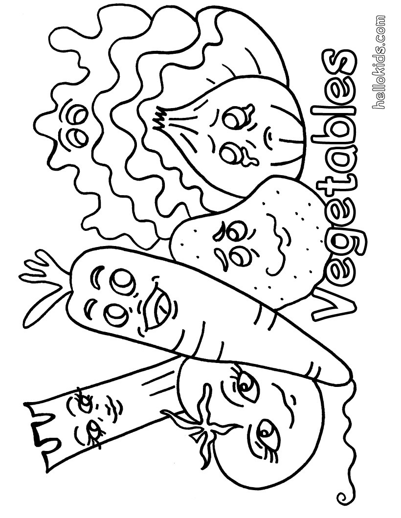 vegetable pictures to color vegetables drawing for kids at paintingvalleycom vegetable pictures to color