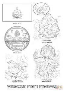 virginia state symbols coloring pages large printable virginia state flag to color from state pages virginia symbols coloring