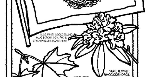 virginia state symbols coloring pages united states coloring pages classroom doodles symbols state pages virginia coloring