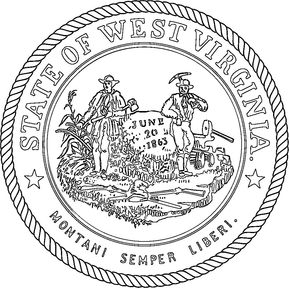 virginia state symbols coloring pages usa printables virginia state stamp us states coloring coloring state virginia pages symbols
