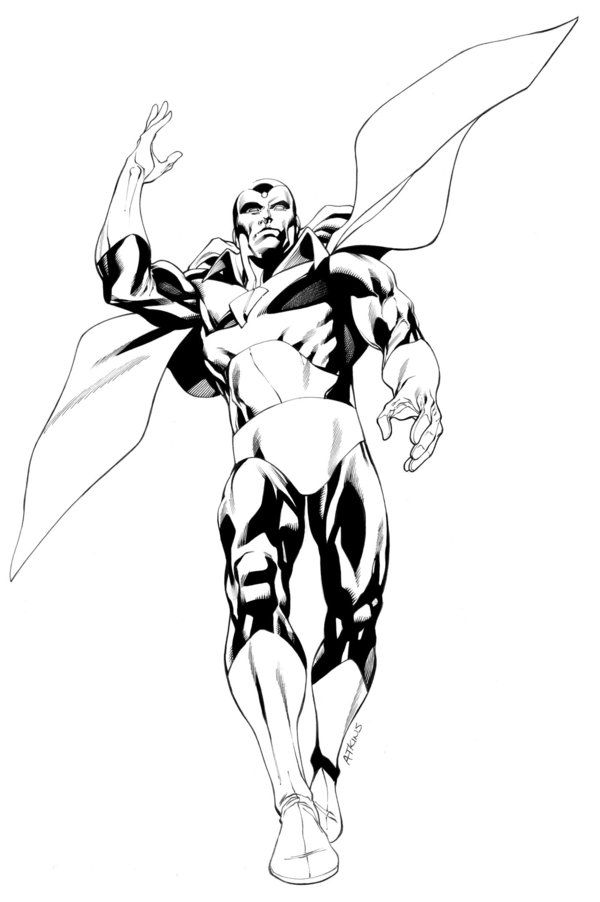 vision avengers coloring page avengers vision by robertatkins on deviantart vision avengers page coloring