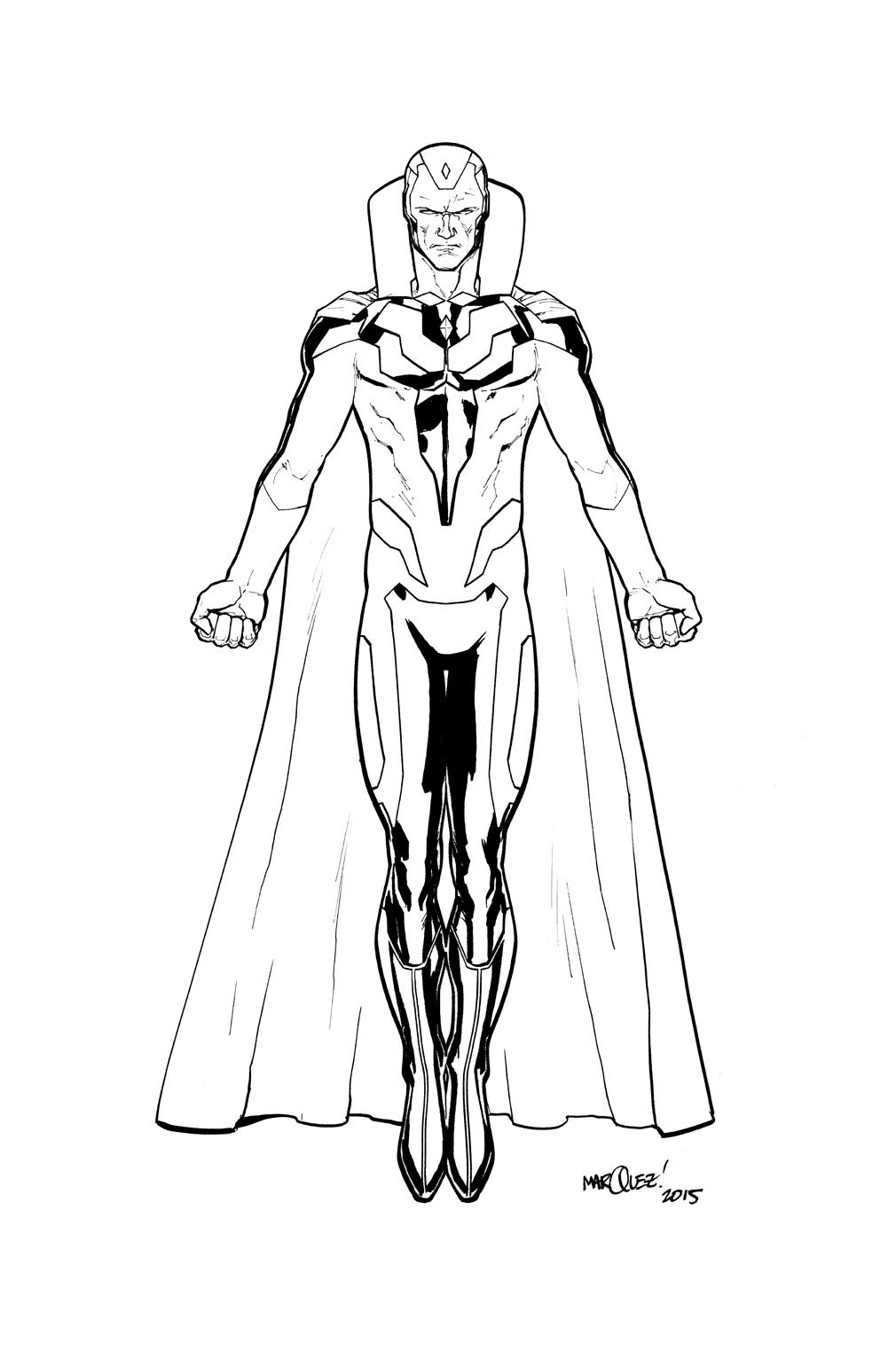 vision avengers coloring page the vision from avengers coloring page free coloring coloring page avengers vision