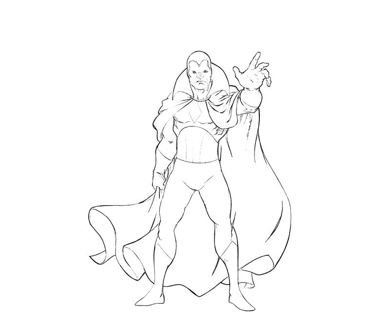 vision avengers coloring page vision digi sketch by scottlewisart on deviantart coloring avengers vision page