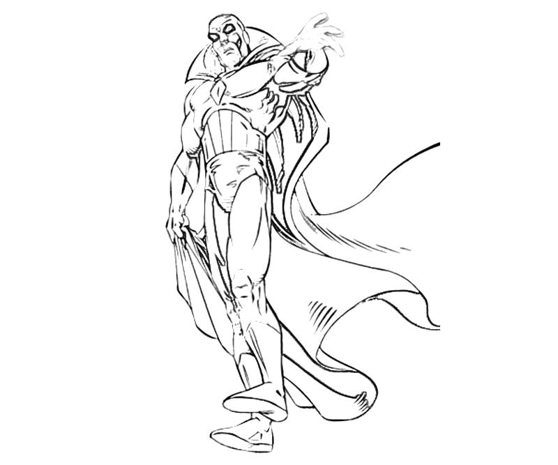 vision avengers coloring page x men vision ability yumiko fujiwara vision coloring avengers page