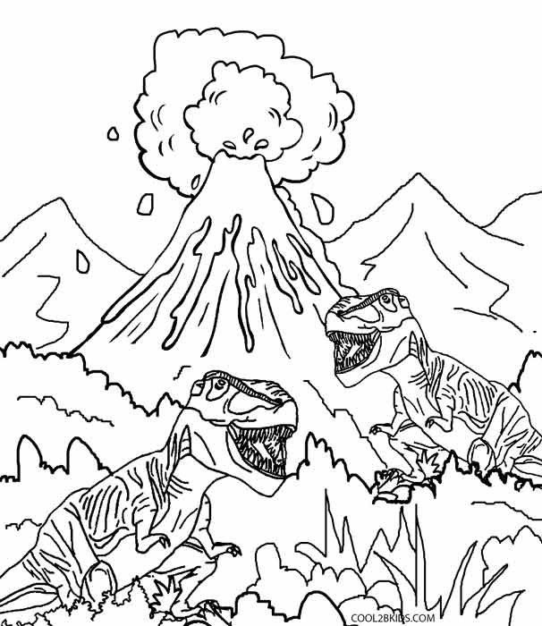 volcano coloring pages to print printable volcano coloring pages for kids cool2bkids to volcano coloring print pages