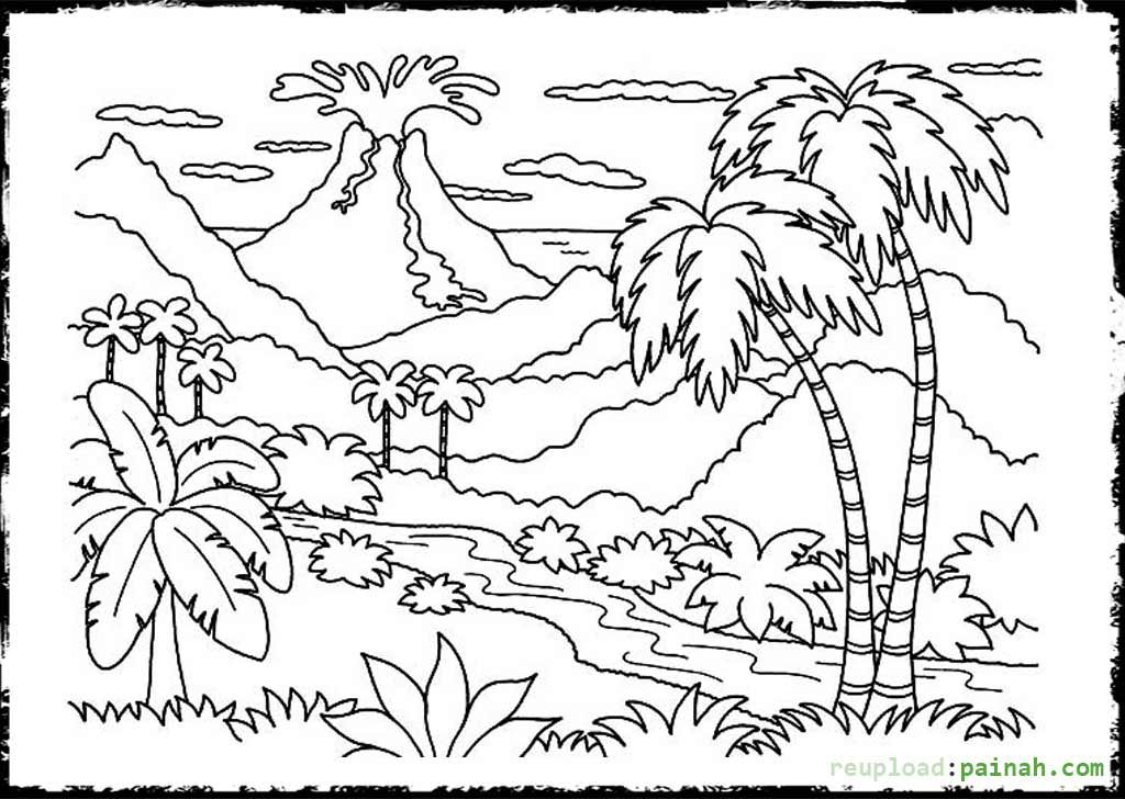 volcano coloring pages to print volcano coloring pages to download and print for free pages to coloring volcano print