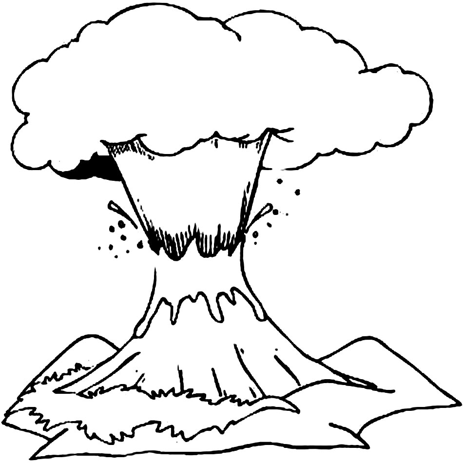 volcano coloring pages to print vulcano island coloring download vulcano island coloring print coloring pages volcano to