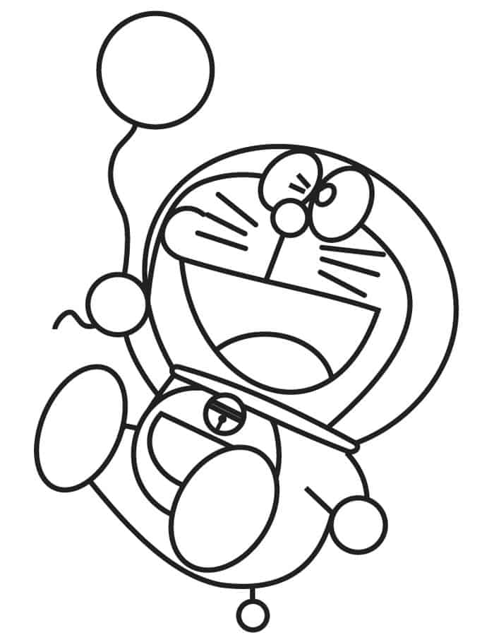 Water balloon coloring pages