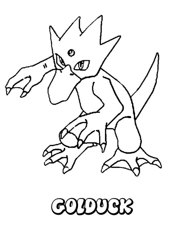water pokemon coloring pages water pokemon coloring pages golduck pokemon coloring water pokemon pages coloring