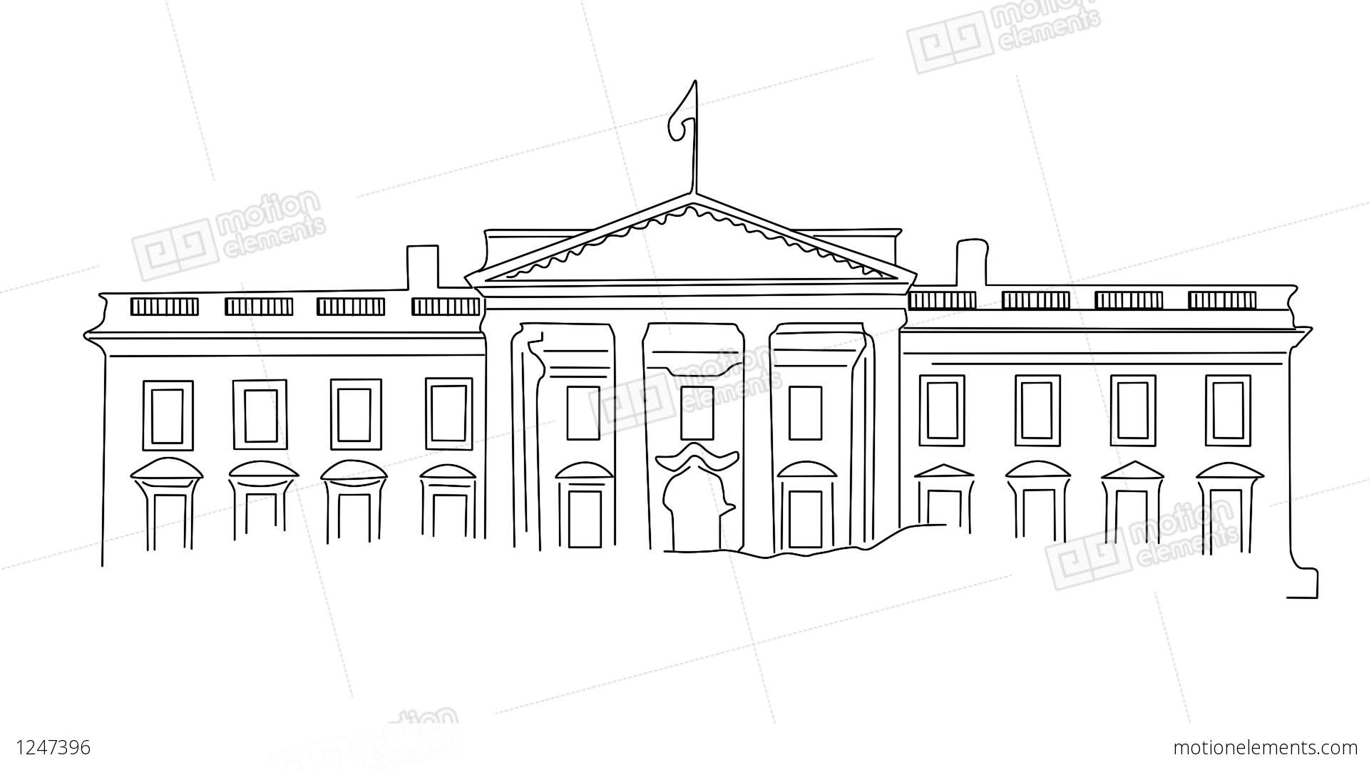 white house sketch white house coloring pages hellokidscom white sketch house