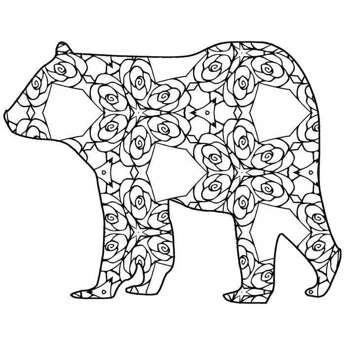 wild animal for coloring 120 best bears images on pinterest acrylic art animal for coloring wild animal