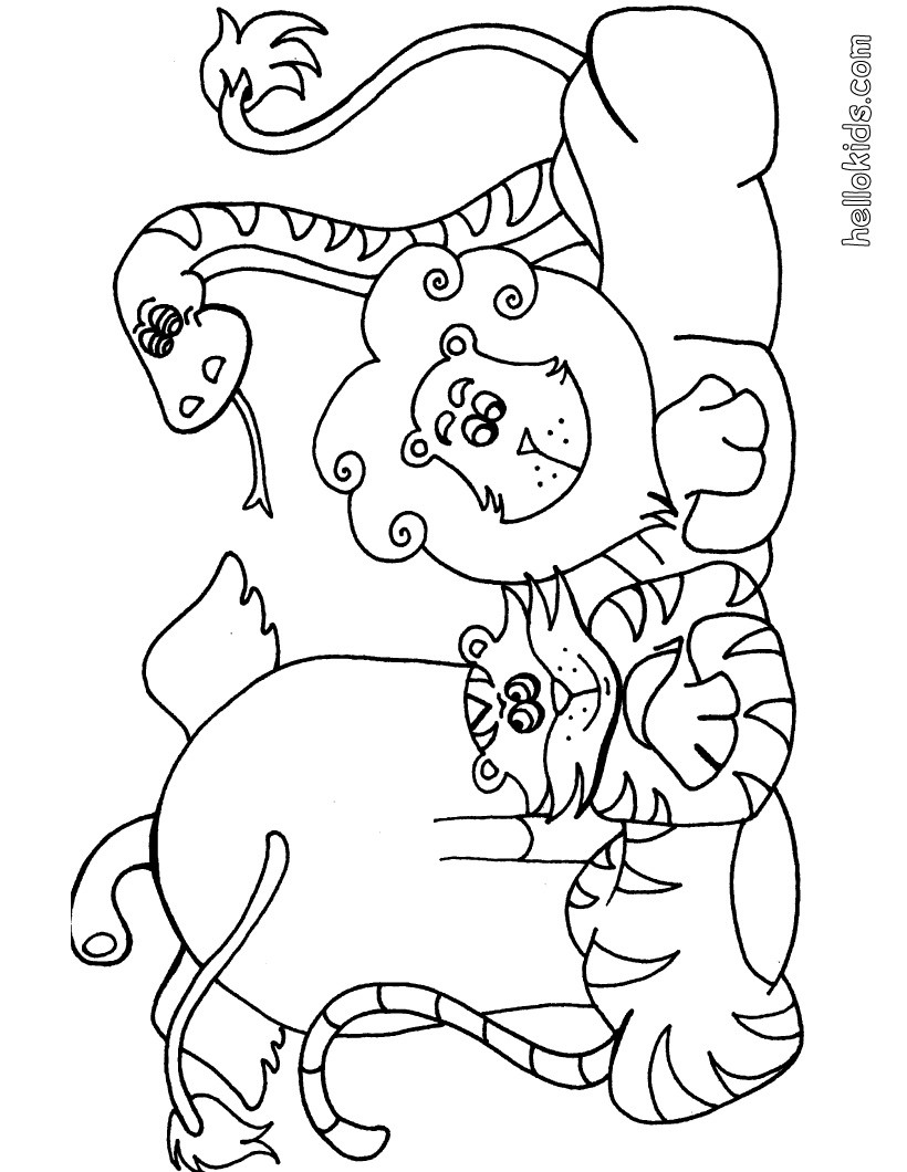 wild animal for coloring wild animals coloring pages printable animal coloring wild for