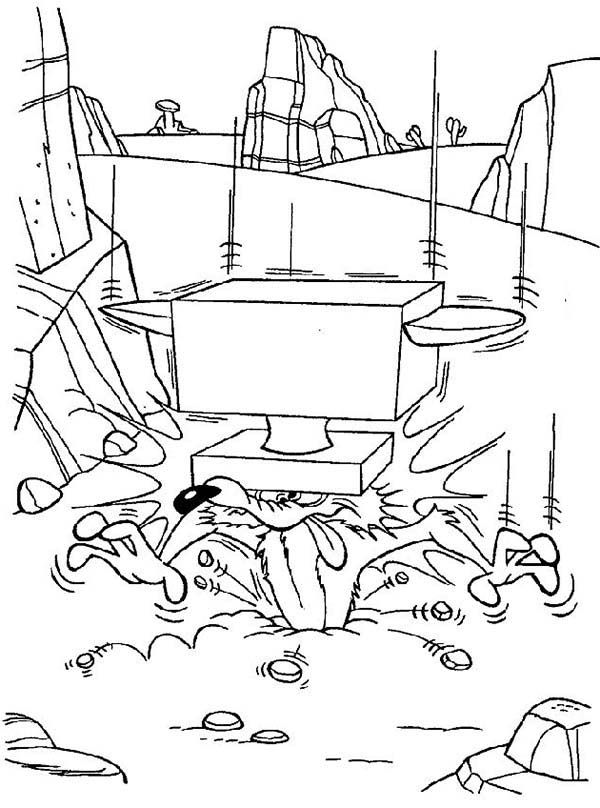 wile coyote coloring pages wile e coyote coloring pages learny kids pages coloring wile coyote