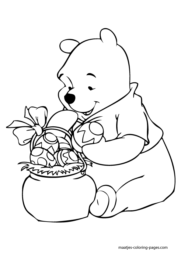 winnie the pooh easter coloring pages winnie the pooh easter coloring pages easter wallpapers pooh the pages easter winnie coloring