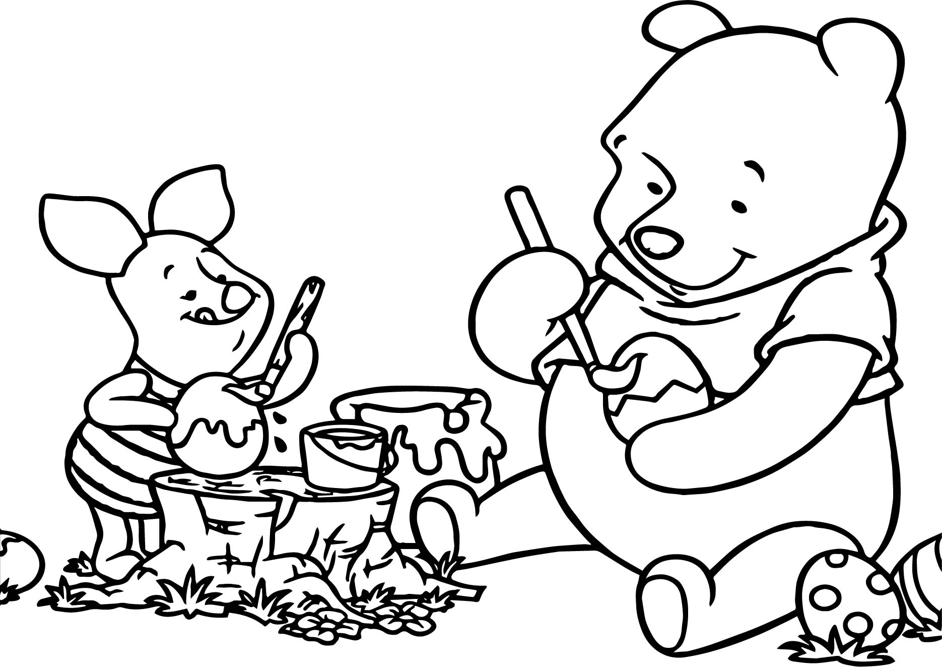 winnie the pooh easter coloring pages winnie the pooh painting easter egg coloring page easter the pages pooh coloring winnie