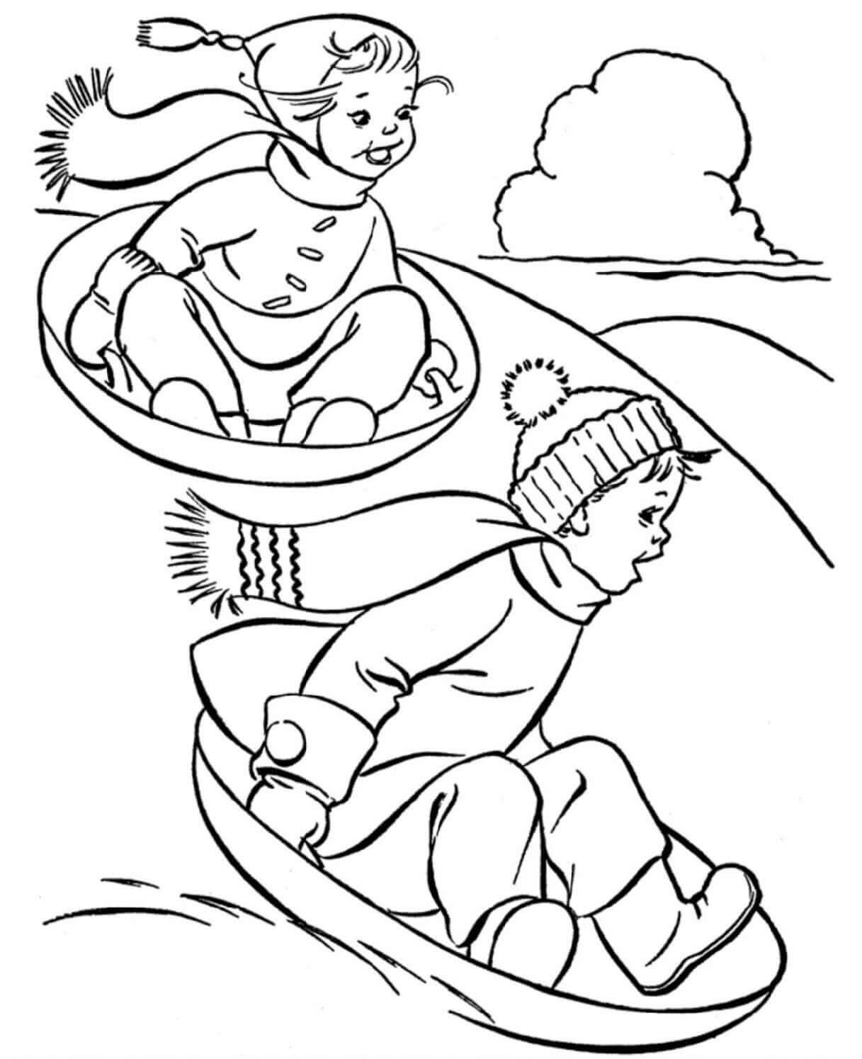 winter coloring pictures coloring pages winter coloring pages and clip art free winter pictures coloring