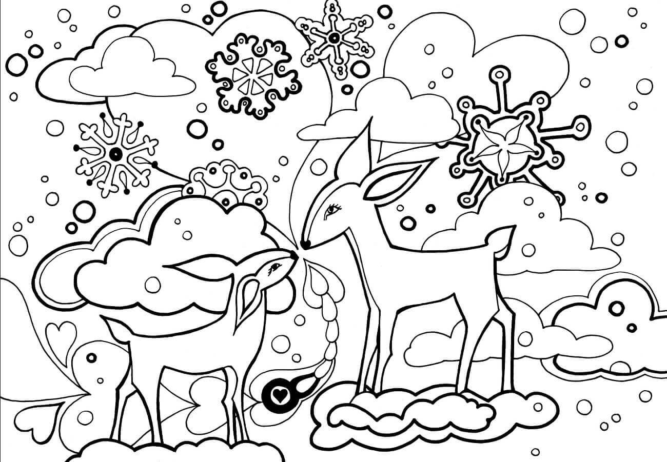 winter coloring pictures free printable winter coloring pages winter coloring pictures 1 1