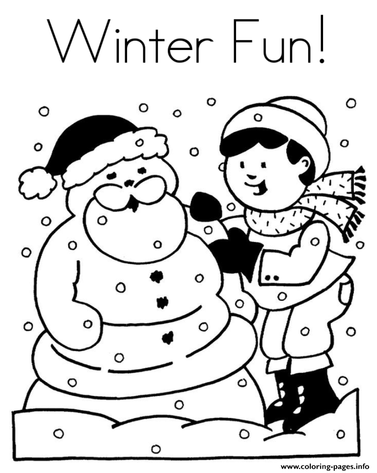 winter coloring pictures winter coloring pages for kids and adults stock winter coloring pictures