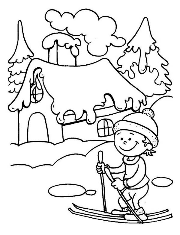 winter coloring pictures winter coloring pages to download and print for free pictures winter coloring