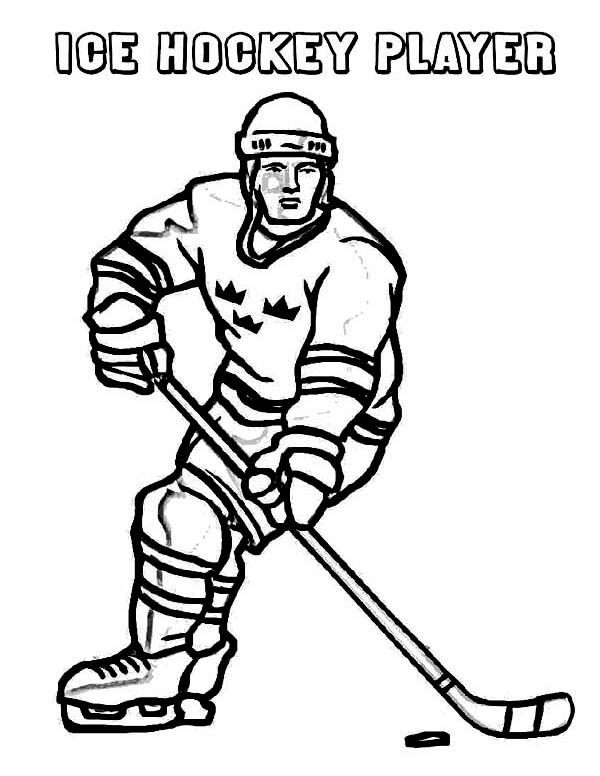 winter sports coloring pages a hockey player on winter sport coloring page kids play sports pages winter coloring