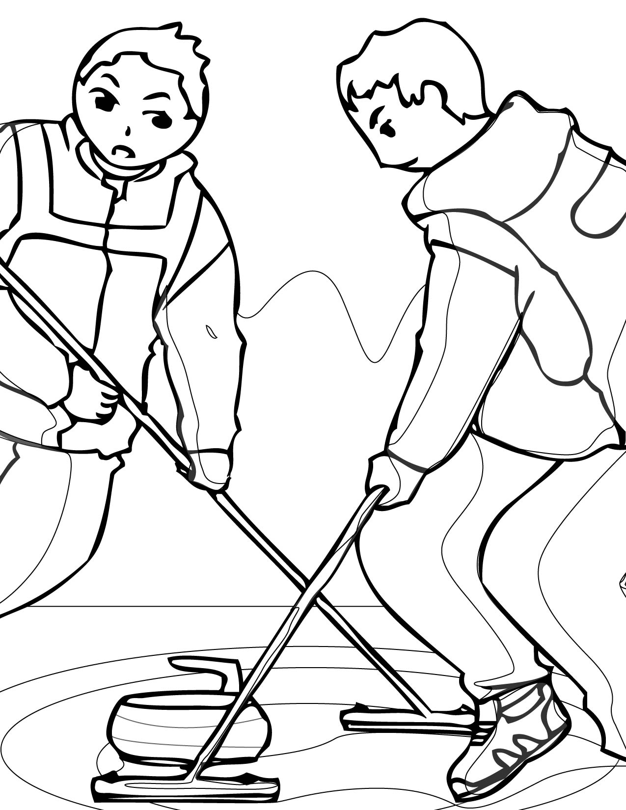 winter sports coloring pages activities print color craft sports coloring pages winter