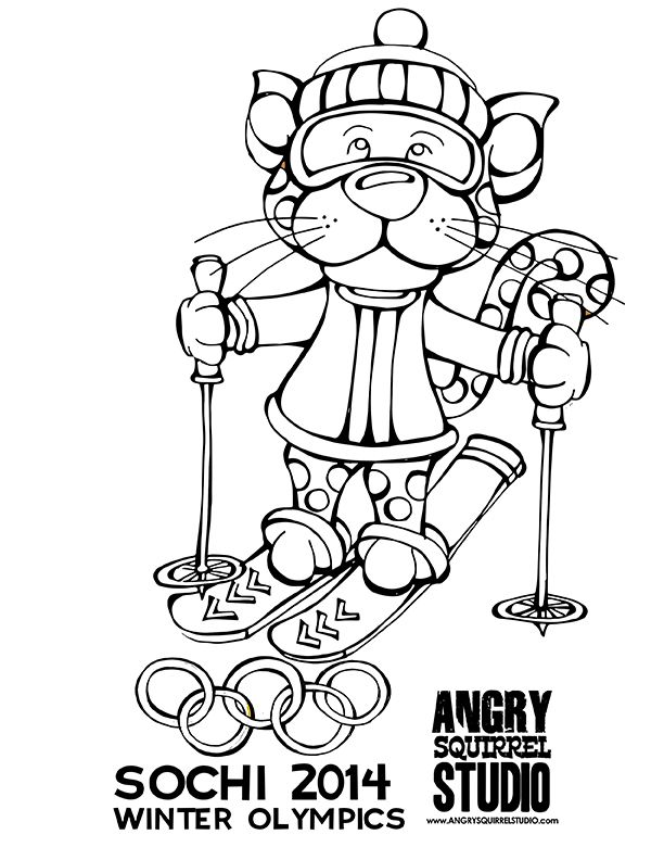 winter sports coloring pages pin by angry squirrel studio on 2014 winter olympics winter pages sports coloring