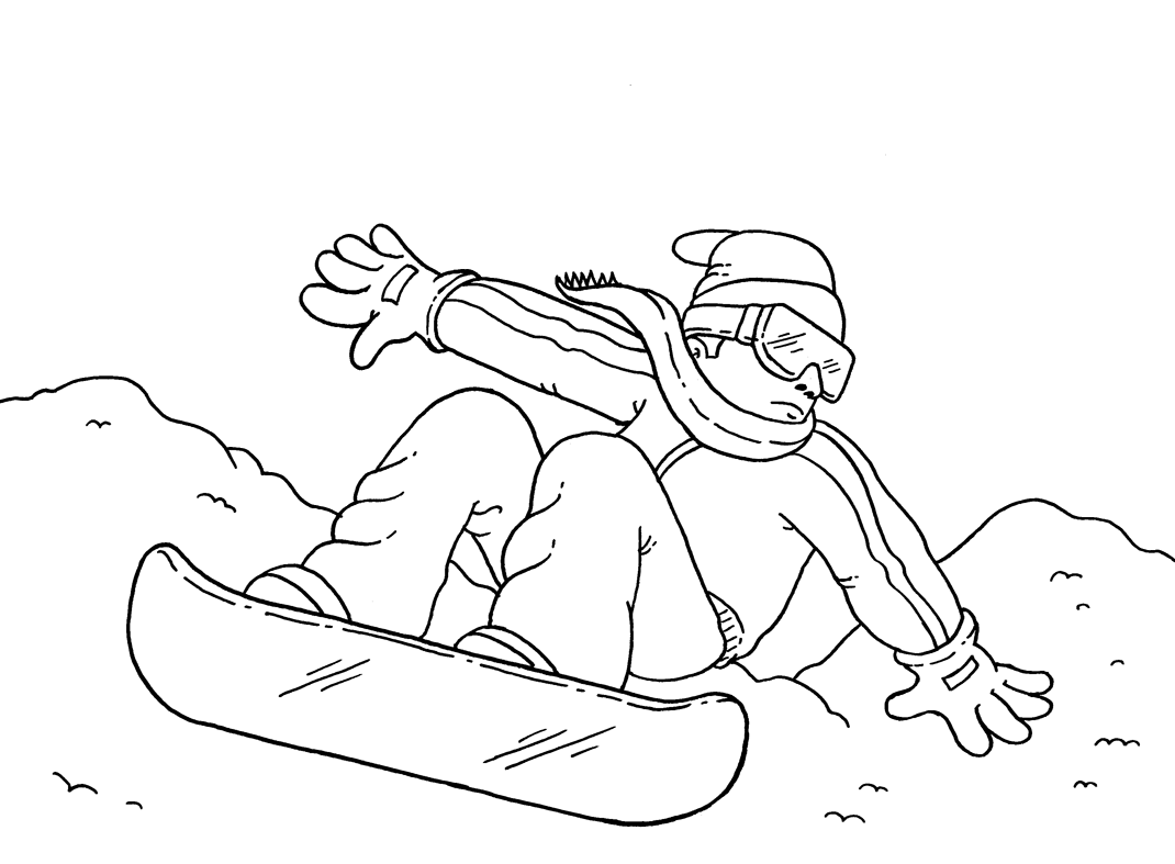 winter sports coloring pages sports photograph coloring pages kids snowboarding winter sports coloring pages