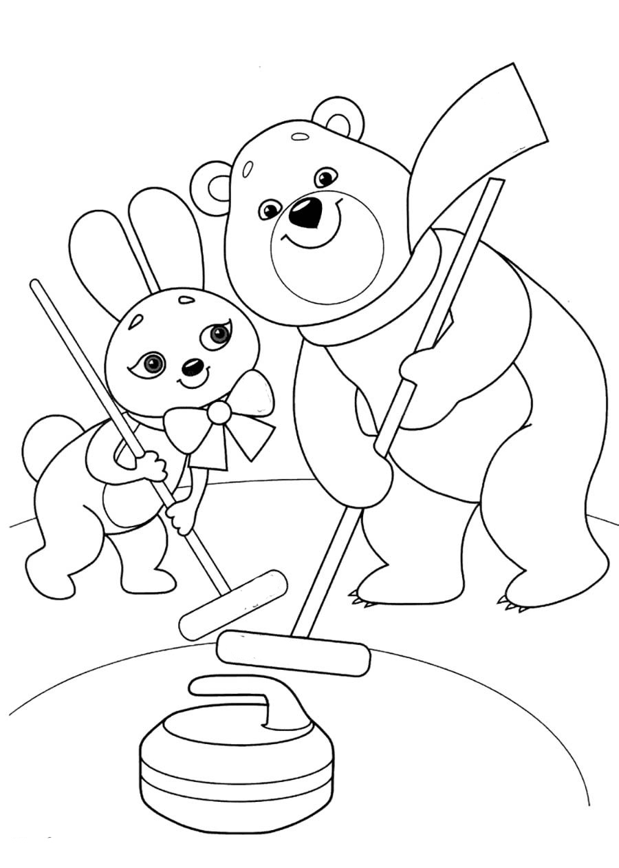 winter sports coloring pages winter sports coloring pages to download and print for free winter coloring sports pages