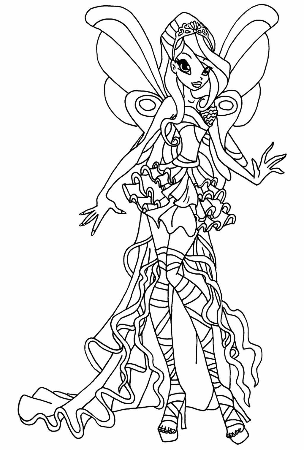 winx club coloring pages bloom bloom charmix coloring page free printable coloring pages coloring pages winx club bloom