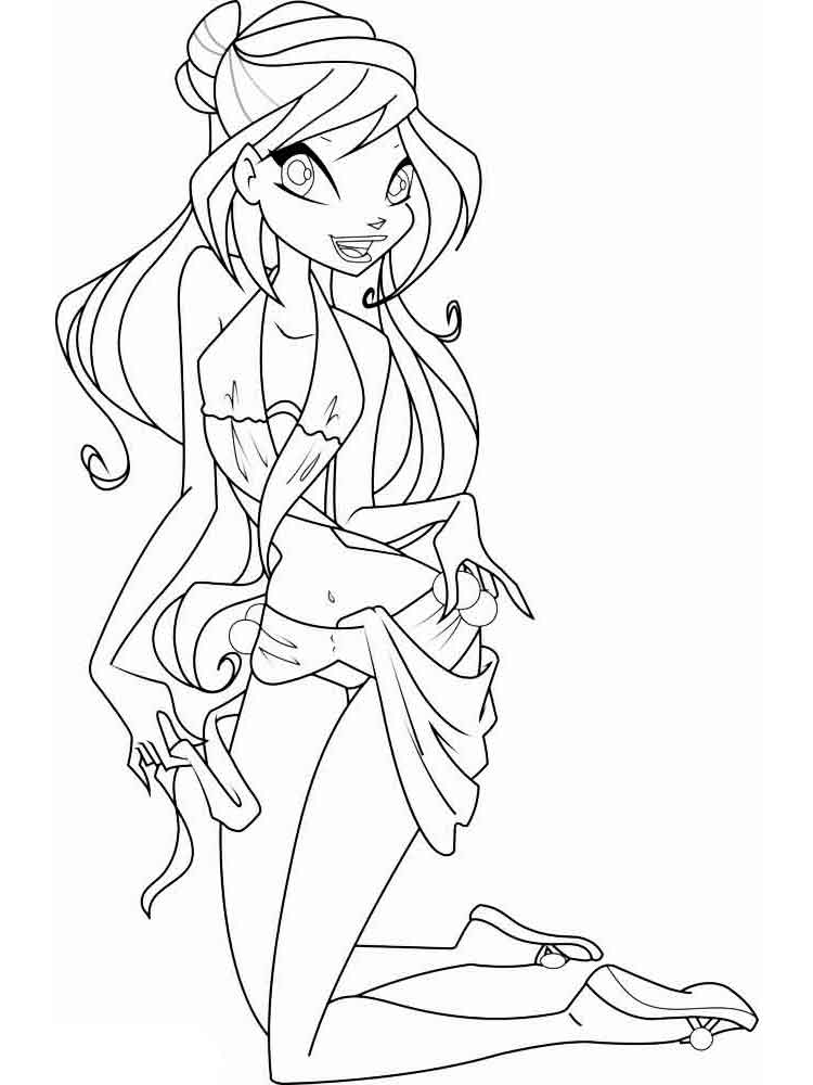 winx club coloring pages bloom harmonix bw bloom by elfkena on deviantart winx club bloom coloring pages