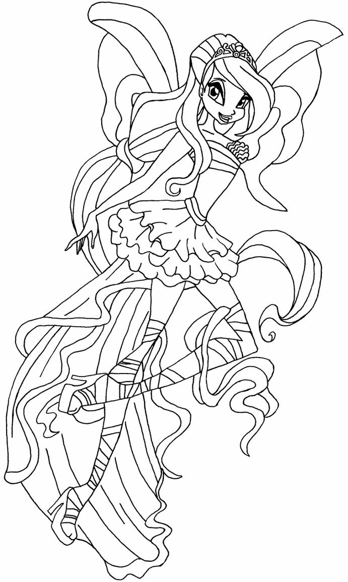 winx club coloring pages bloom the best free bloom coloring page images download from coloring winx club pages bloom