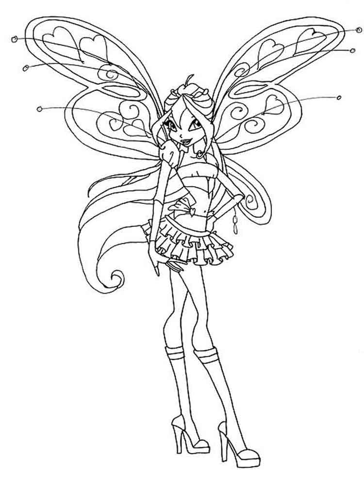winx club coloring pages bloom winx club bloomix coloring pages at getcoloringscom winx club bloom coloring pages
