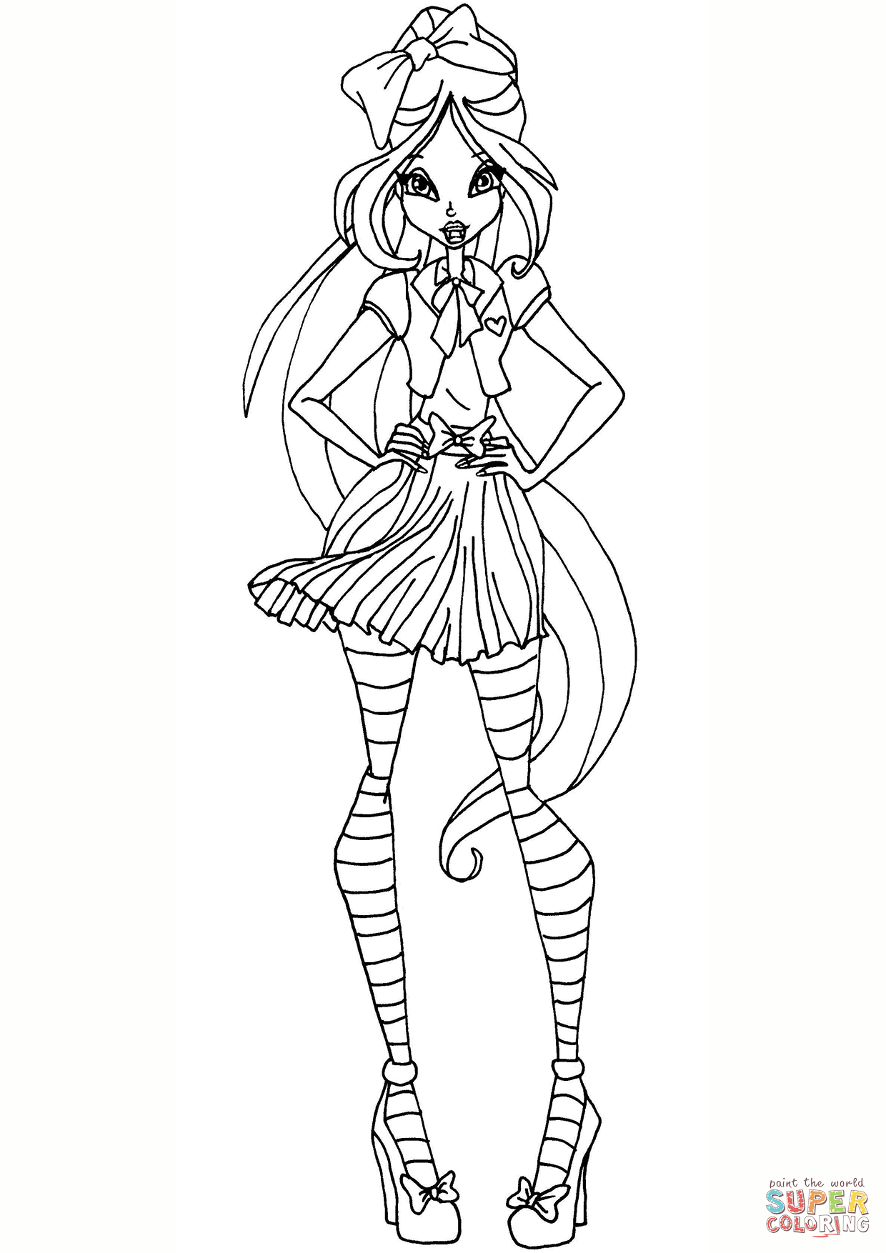 winx club coloring pages flora bw flora lovix by elfkena on deviantart coloring club winx pages flora