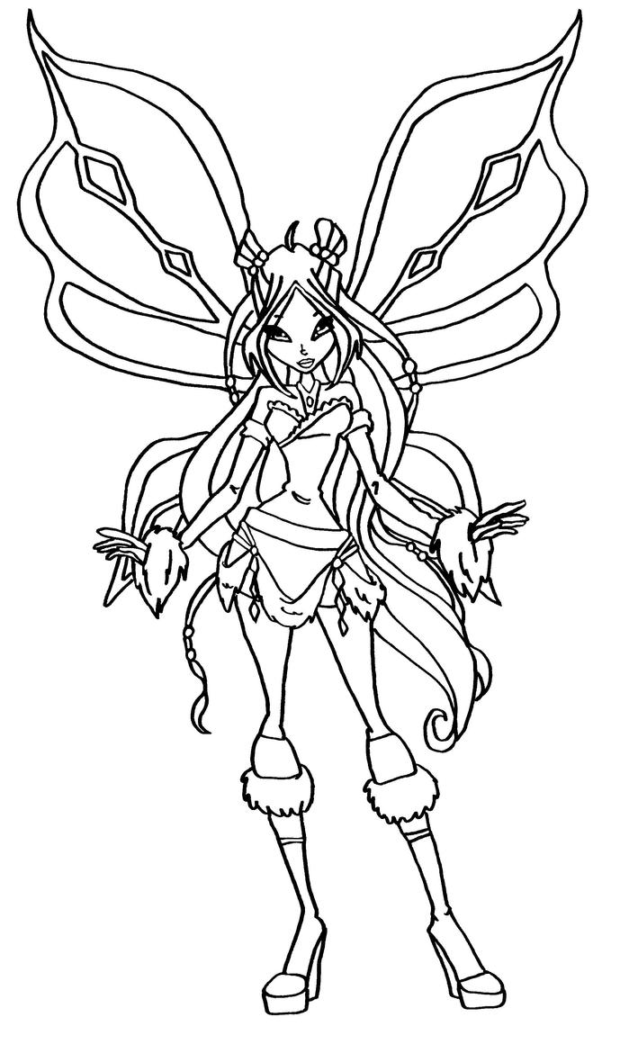 winx club coloring pages flora flora harmonix by elfkena on deviantart club flora winx coloring pages