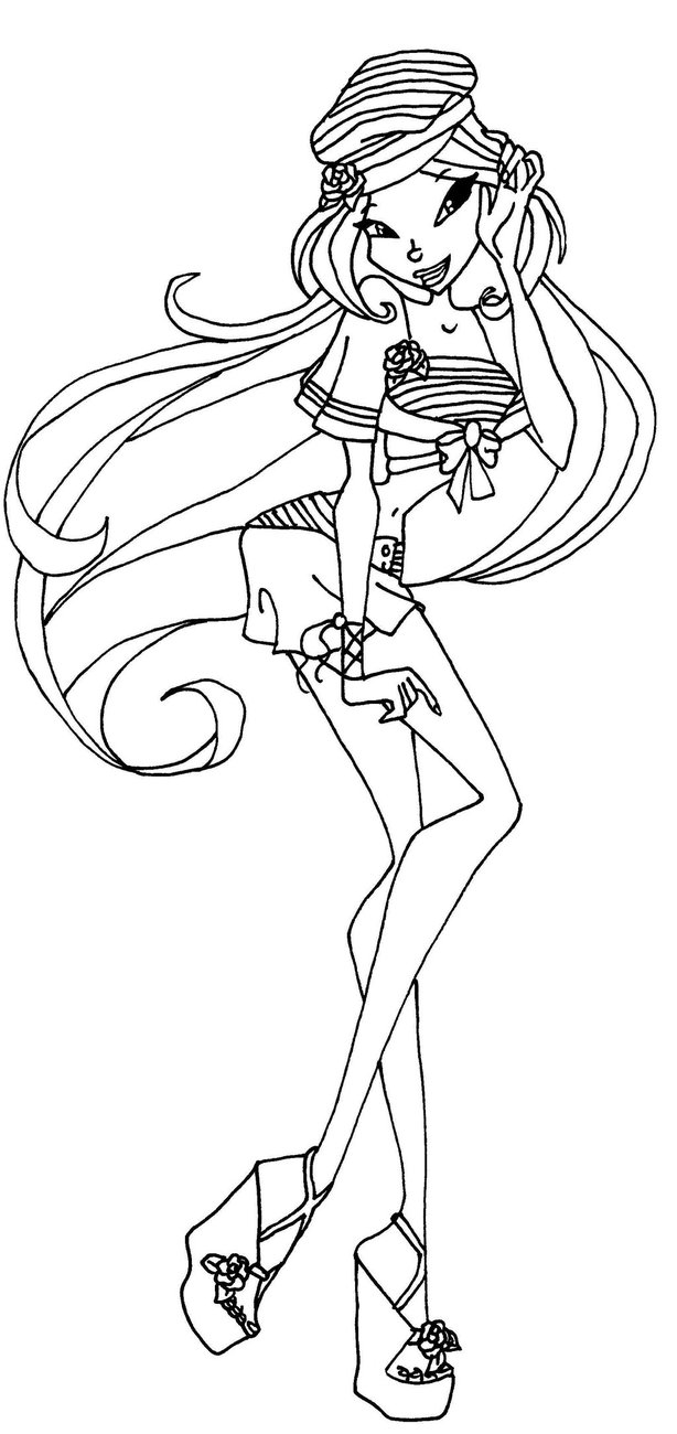 winx club coloring pages flora flora lovix coloring page by icantunloveyou on deviantart pages club coloring flora winx