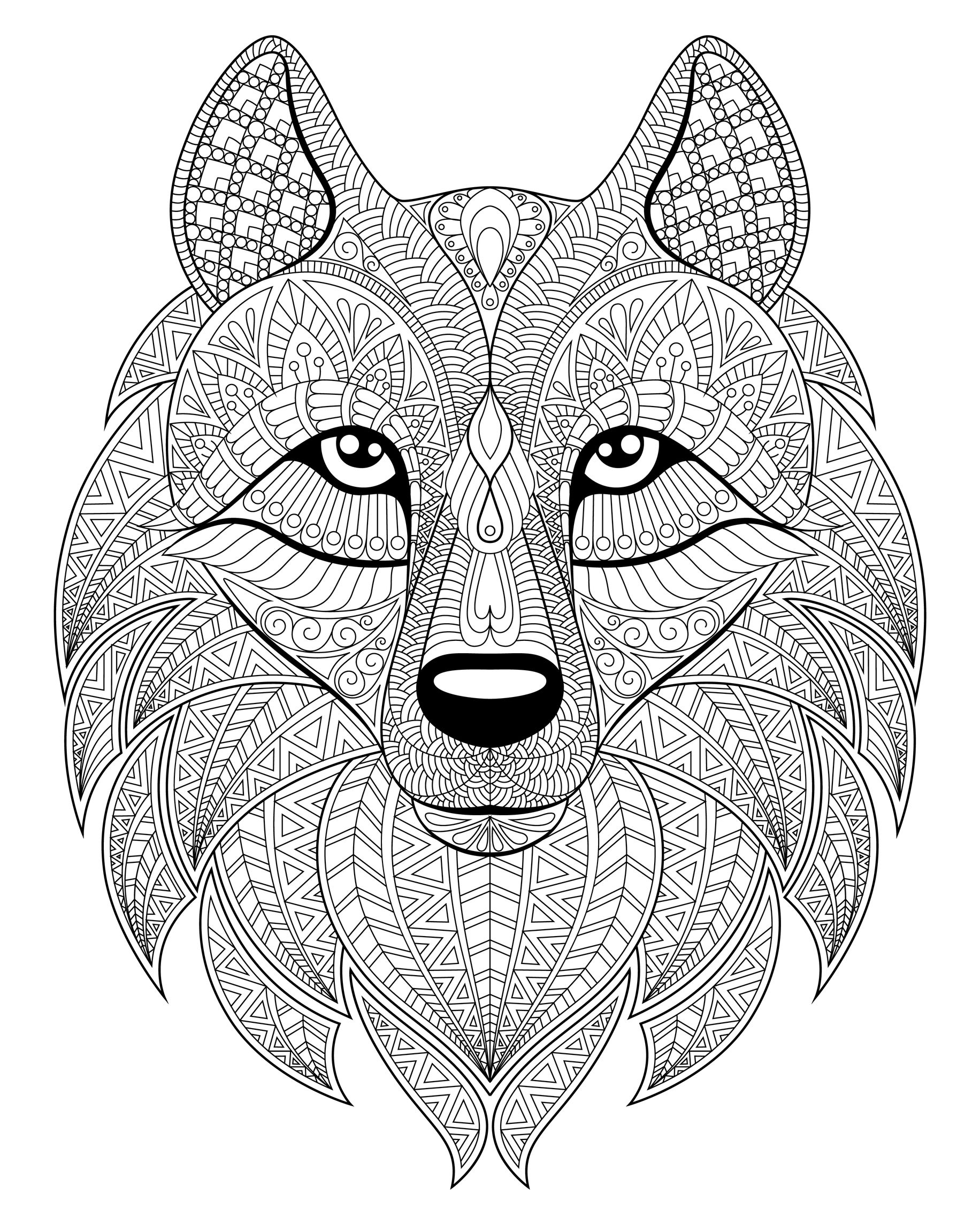 wolf coloring pages for adults get this wolf coloring pages for adults to print for free pages wolf for coloring adults
